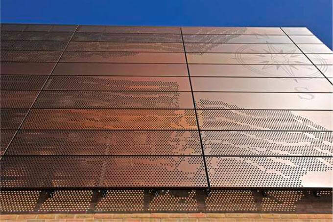 Cornelius Vermuyden School Anodised Cladding