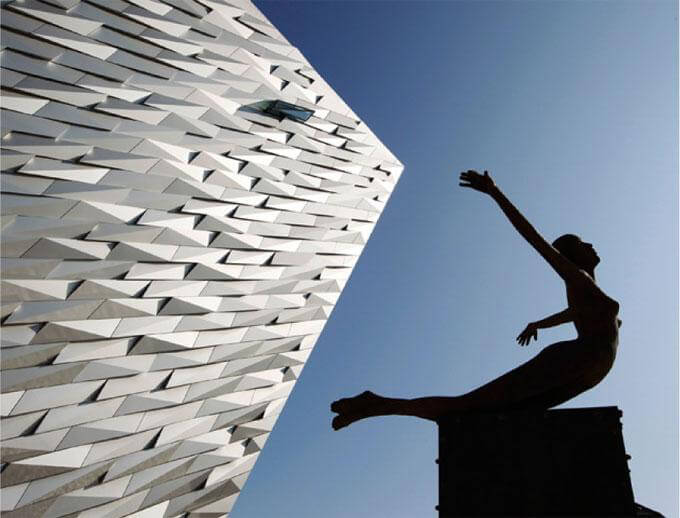 Titanic Building Belfast - Anodised Panels
