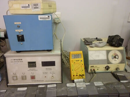 Testing Equipment - Suga Abrasion Tester