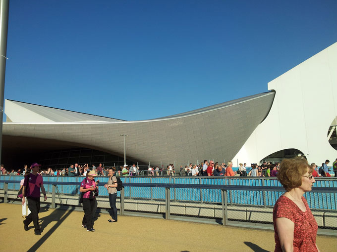Aquatic Centre - London Olympics
